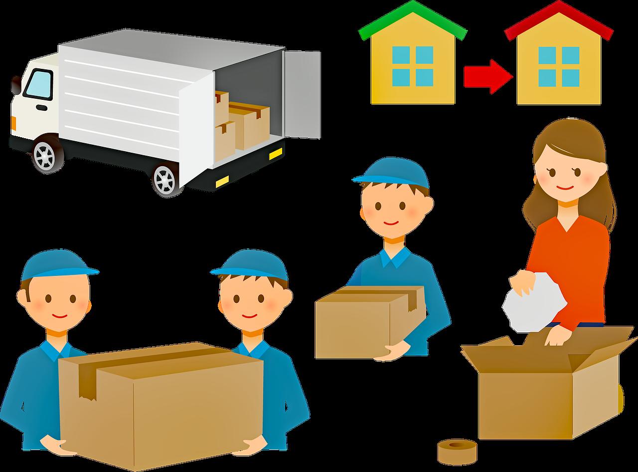 dodávky na stěhování