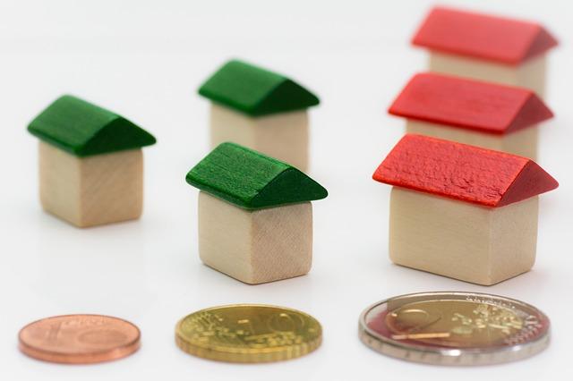 domky a mince