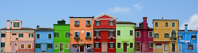 domy v Benátkách