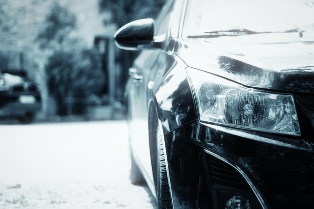 světlomet automobilu